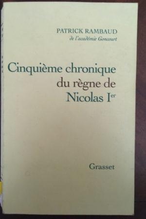 Cinquième chronique du règne de Nicolas 1er