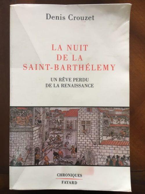 La nuit de la saint barthélémy