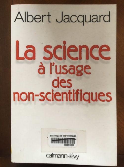 La science à l'usage des non scientifiques